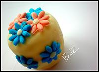 Mini cake giardino di fiori