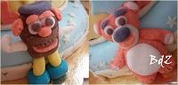 Personaggi toy story pasta di zucchero