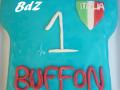 Torta maglia calcio Italia