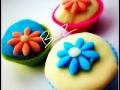 Muffin decorati con fiorellini