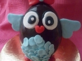 Uovo di pasqua gufetto pdz