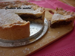 Crostata alla nutella