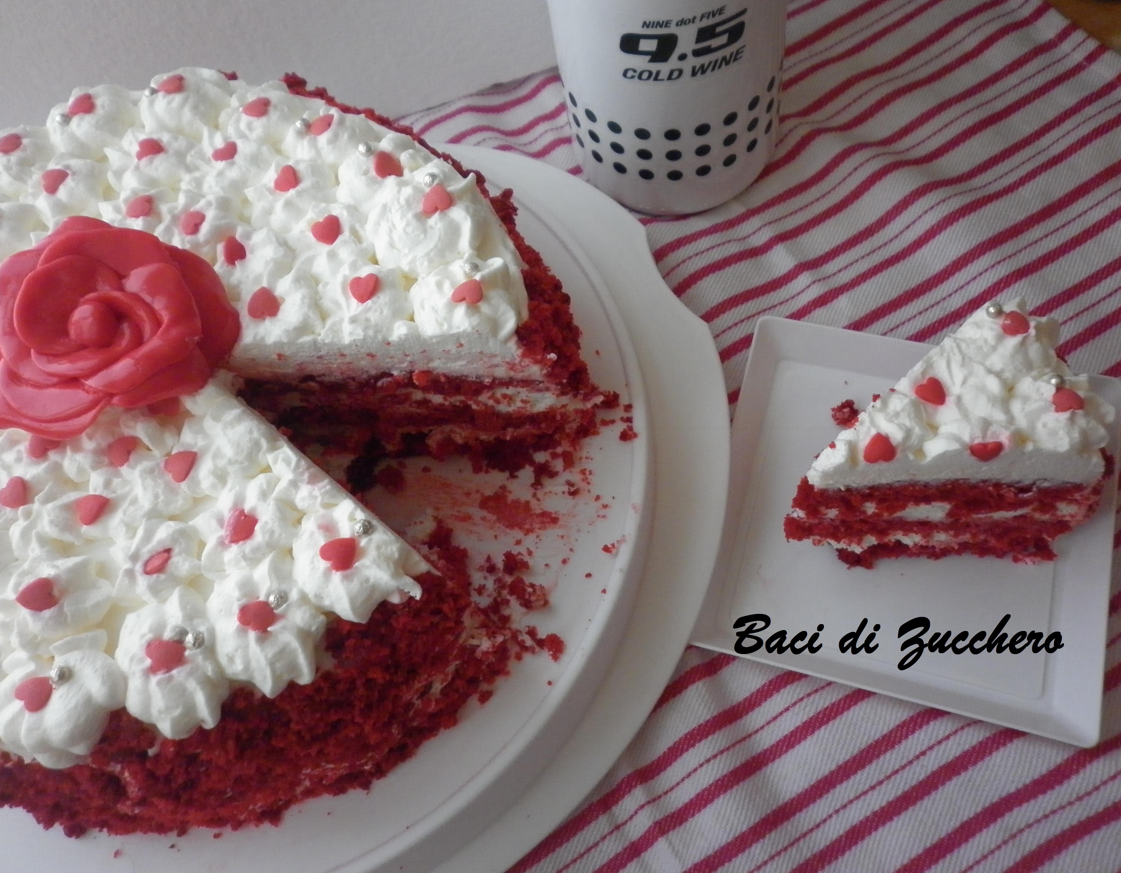 Torta Red Velvet Ricetta Originale Red Velvet Ricetta Originale